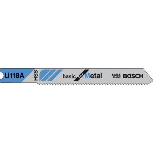 Pilový plátek do kmitací pily U 118 A Basic for Metal Bosch