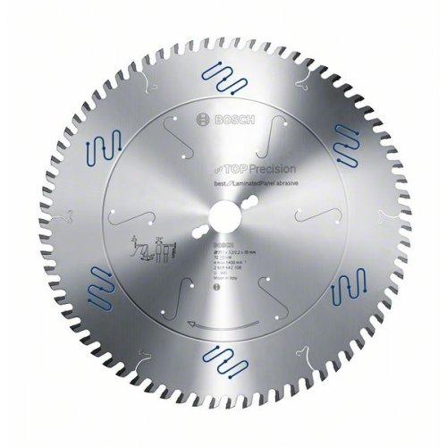 Pilový kotouč do okružních pil Top Precision Best for Laminated Panel Abrasive 250 x 30 x 3,2 mm, 80 Bosch