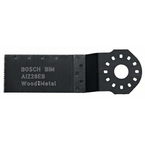 Bimetalový ponorný pilový list na dřevo a kov AIZ 28 EB Wood and Metal 50 x 28 mm Bosch