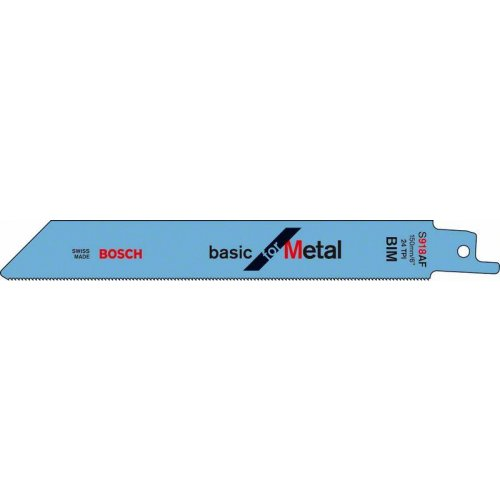 Pilový plátek do pily ocasky S 918 AF Basic for Metal Bosch