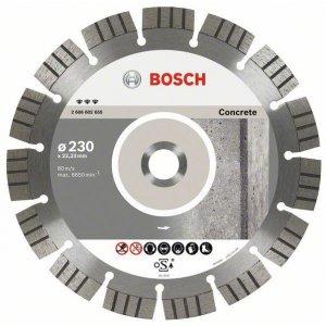 Diamantové dělicí kotouče Best for Concrete Bosch