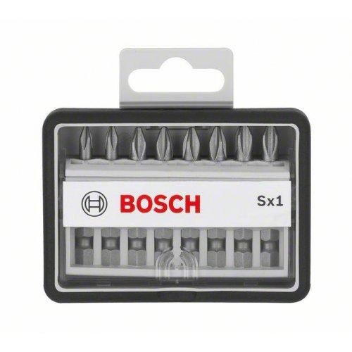 8dílné sady šroubovacích bitů Robust Line, Sx Extra-Hart 49 mm Bosch