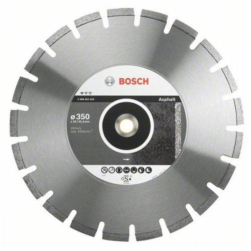 Diamantový dělicí kotouč Standard for Asphalt 400 x 20/25,4 x 3,6 x 10 mm Bosch 2608602626