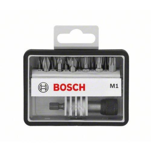 12+1dílné sady šroubovacích bitů Robust Line, M Extra-Hart 25 mm Bosch
