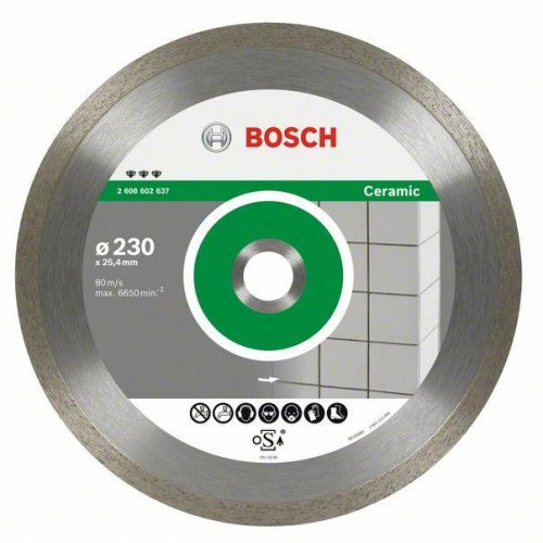 Diamantový dělicí kotouč Best for Ceramic 250 x 30/25,40 x 2,4 x 10 mm Bosch 2608602638