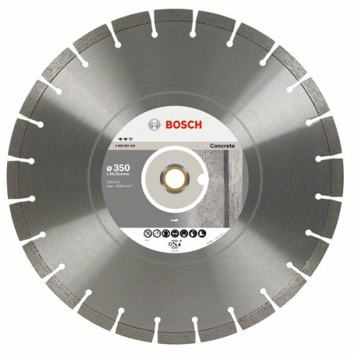 Diamantový dělicí kotouč Expert for Concrete 350 x 20/25,4 x 3,2 x 12 mm Bosch 2608602561