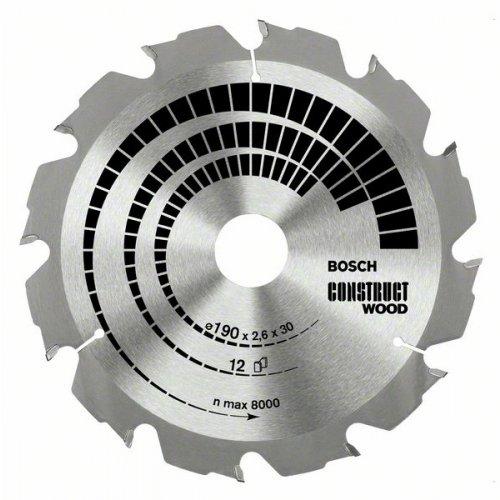 Pilový kotouč Construct Wood 210 x 30 x 2,8 mm, 14 Bosch