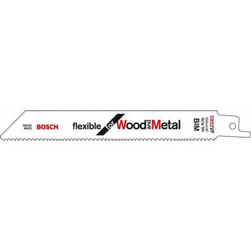 Pilový plátek do pily ocasky S 922 VF Flexible for Wood and Metal Bosch