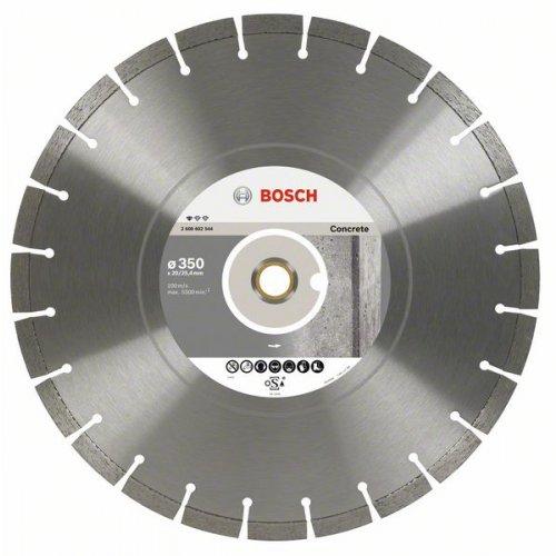 Diamantový dělicí kotouč Standard for Concrete 500 x 25,4 x 3,6 x 10 mm Bosch 2608602712