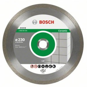 Diamantový dělicí kotouč Best for Ceramic 125 x 22,23 x 1,8 x 10 mm Bosch 2608602631