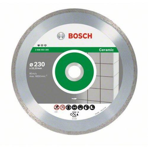 Diamantový dělicí kotouč Standard for Ceramic 115 x 22,23 x 1,6 x 7 mm Bosch 2608602201