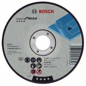 Řezný kotouč na kov lomený Expert for Metal A 30 S BF,125 mm, 22,23 mm, 2,5 mm Bosch 2608600221