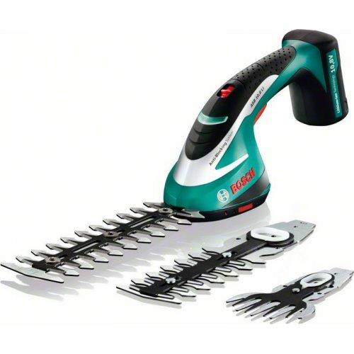 Aku nůžky na trávu Bosch ASB 10,8 LI Set