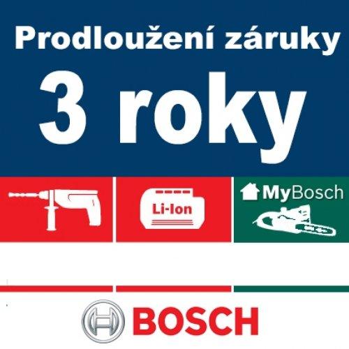 Prodloužená záruka Bosch na 3 roky (registrace zboží do 4 týdnů)
