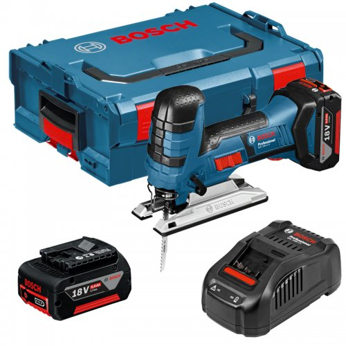 Aku kmitací pila 2x5,0Ah Bosch GST 18 V-LI S Professional