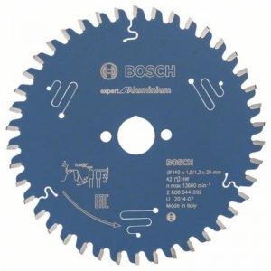 Pilový kotouč Expert for Aluminium 165 x 20 x 2,6 mm, 52 Bosch 2608644095