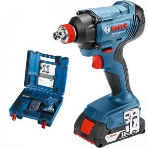 Aku rázový utahovák 2x3,0Ah Bosch GDR 180-LI Professional