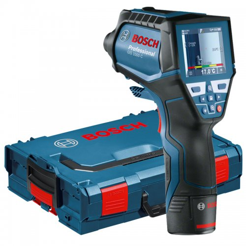 Aku termodetektor + L-Boxx Bosch GIS 1000 C Professional