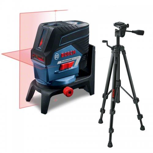Křížový laser Bosch GCL 2-50 C Professional + stativ BT 150