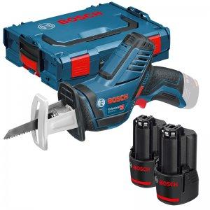 Aku pila ocaska 2x3,0Ah + L-BOXX Bosch GSA 12V-14 Professional