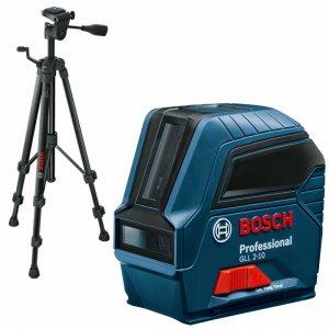 Křížový laser Bosch GLL 2-10 Professional + stativ BT 150