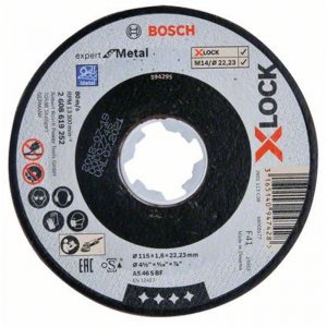 Řezný kotouč na kov Expert for Metal 115mm Bosch X-LOCK 2608619252