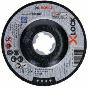 Řezný kotouč na kov Expert for Metal 115mm Bosch X-LOCK 2608619256