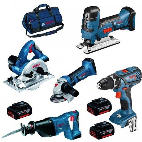 Aku sada 5ks 18V nářadí Bosch Professional 0615990K6N